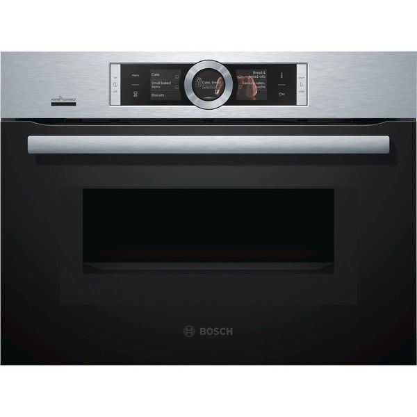 Bosch Cmg676bs6b Home Connect Microwave Combination Oven Electric Compact Microwavemicrowave Stainless Steelbuilt