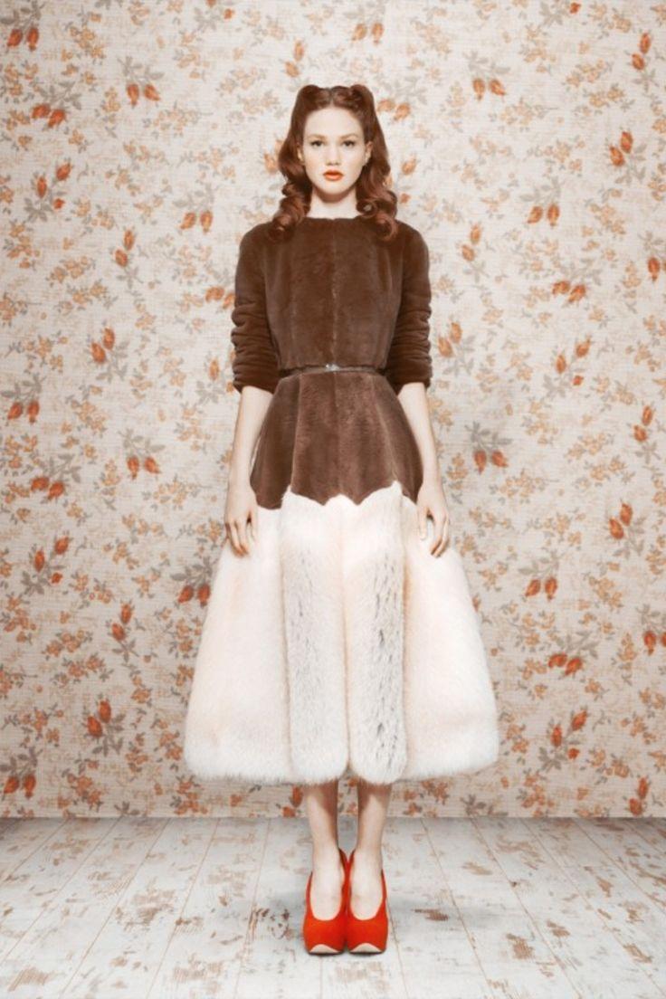 Ulyana Sergeenko | Коллекции осень-зима 2011/2012 | Москва | VOGUE