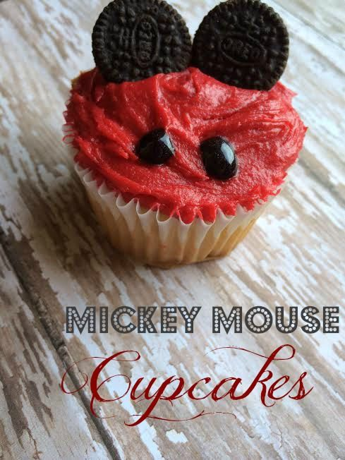 Mickey Mouse Cupcakes - Tales of a Ranting Ginger
