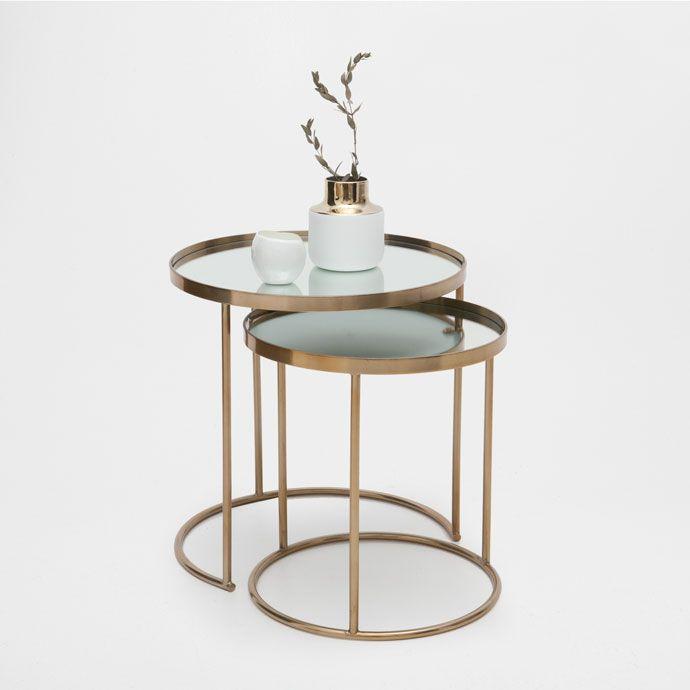 Image 1 du produit Table gigogne ronde (lot de 2)
