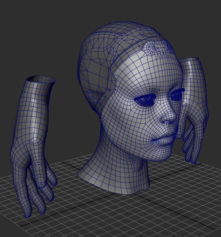 Droid Female 2.0 - Page 3 - Polycount Forum