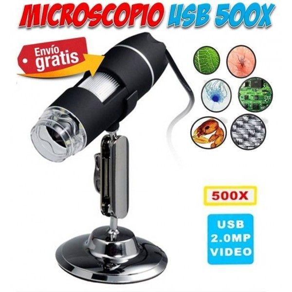 #regalos #hogar #colegio #electronica #gadgets Microscopios USB video camara digital para el colegio. Oferta en Yougamebay.