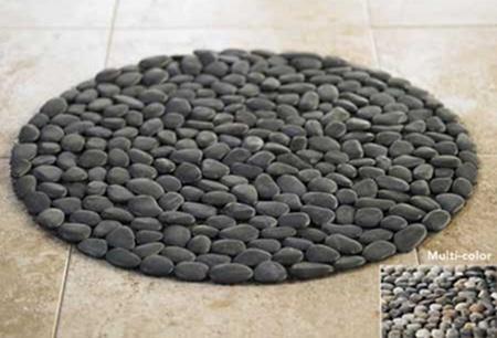 Unique Stone Bath Mats Will Add Unique Touch To Your