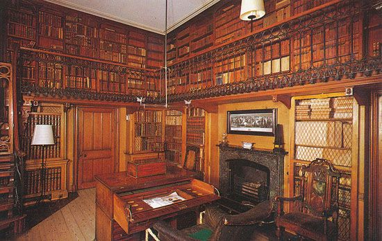 Huxley Library Book Room
