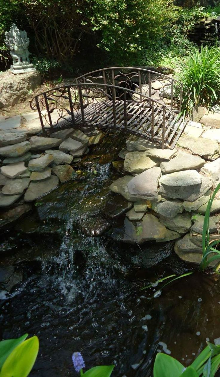 203 best landscape bridge images on pinterest for Garden pool facebook
