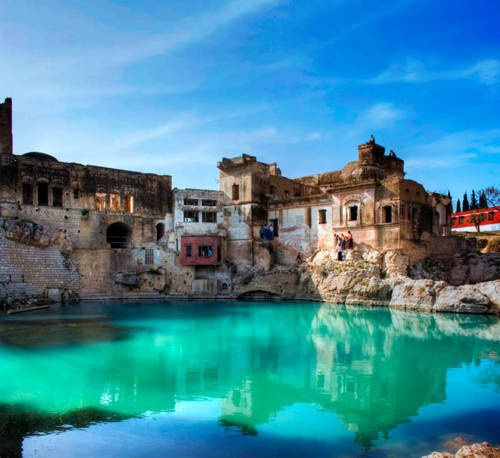 Katasraj Temple near Chakwal, Pakistan