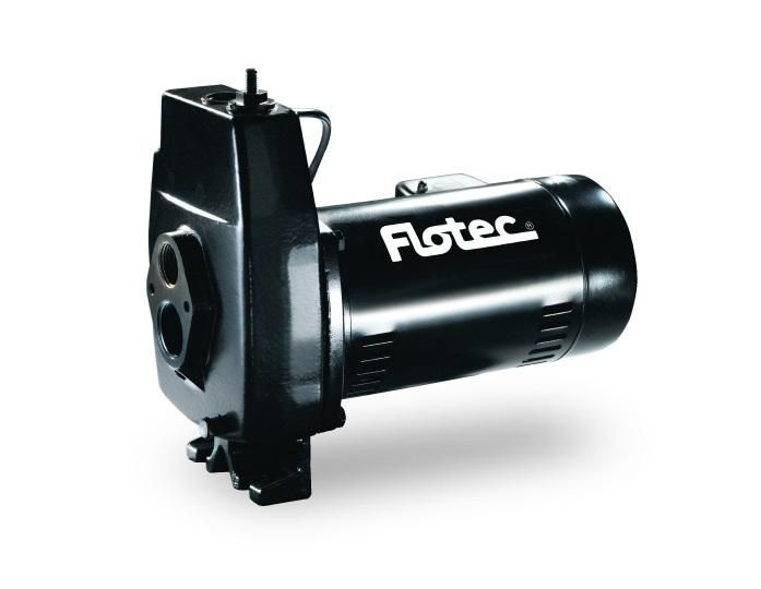 Flotec FP4222-08 Cast Iron Convertible Jet Pump, 3/4 HP