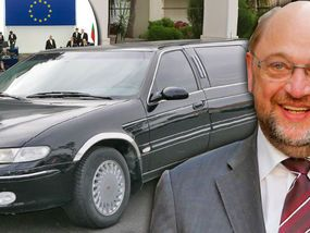 PROPOSALS to spend millions of taxpayer pounds on an in-house limousine service for the European Parliament has sparked fresh accusations of a Brussels gravy train.