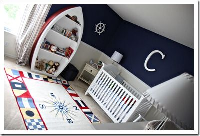 nautical boy's nursery
