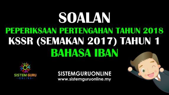Soalan Peperiksaan Pertengahan Tahun 2018 Kssr Semakan 2017 Tahun 1 Bahasa Iban Education Incoming Call Screenshot Incoming Call