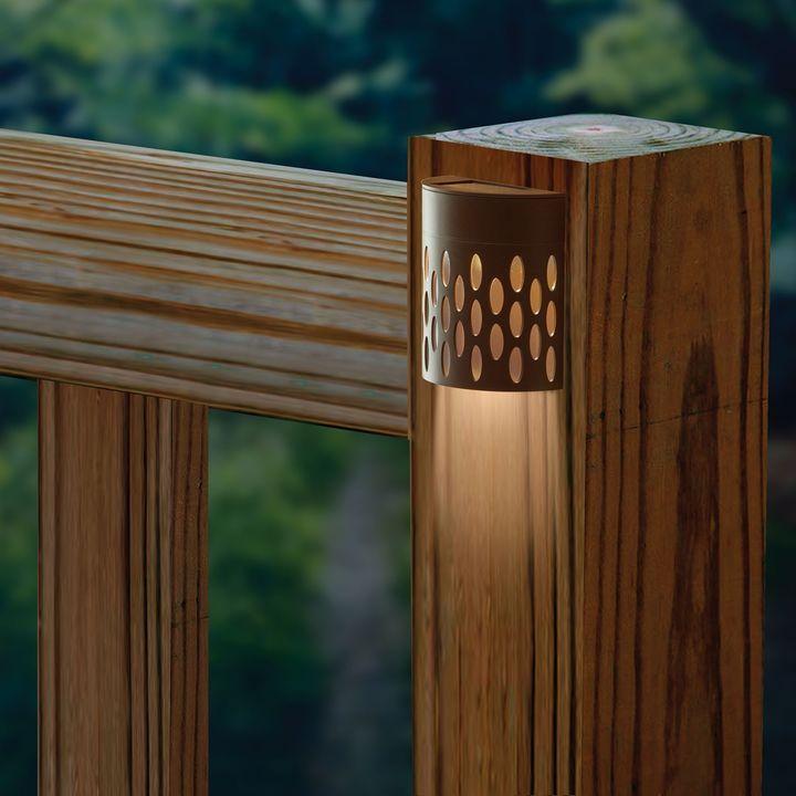 Pool Deck Lighting Ideas 15 irreplaceable deck lighting ideas that will make your neighbours jealous Saguaro Solar Powered Deck Light