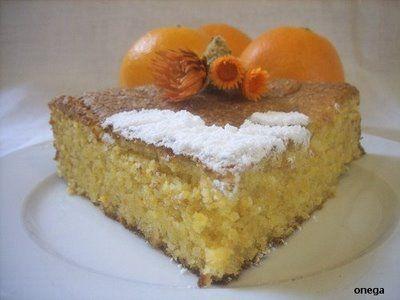 Bizcocho de almendra y naranja (sin gluten, sin lactosa) | Magia en mi cocina | Recetas fáciles de cocina paso a paso