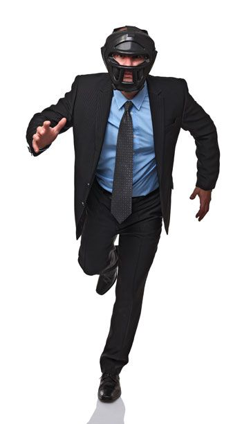 If you are naturally an aggressive person, then you probably have a lot of experience with engaging in conflict.