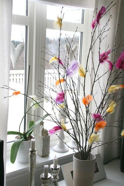 Federn heißen den Frühling willkommen. MeyBiMe | Fastelaven