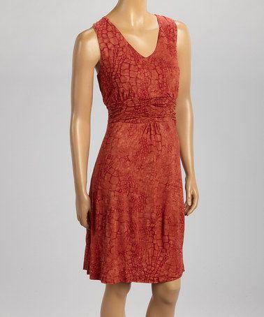 Look at this #zulilyfind! Spicy Pave Hana Empire-Waist Dress by Nomadic Traders #zulilyfinds
