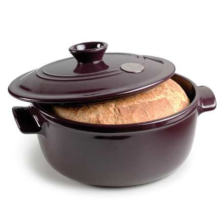 Artisan Bread Baking Crock and Dutch Oven - Figue