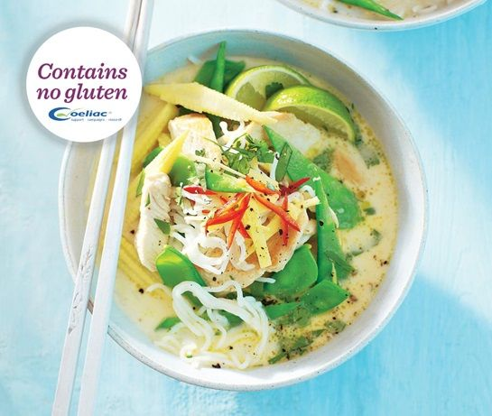 Thai-style chicken & rice noodle broth | ASDA Recipes