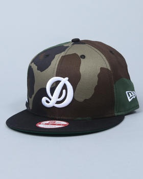 DTA - Capital D Camo New Era Snapback Cap (DRJAYS.COM EXCLUSIVE)