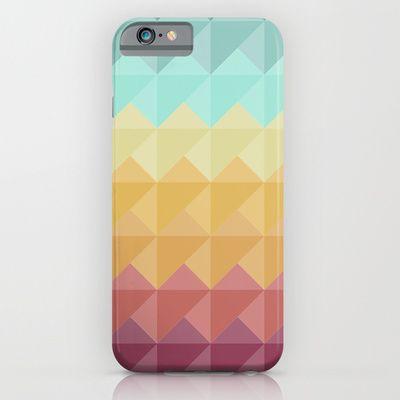 Retro Triangles iPhone & iPod Case by Refreshdesign