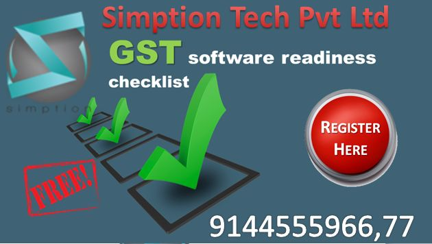 Simption Tech Pvt Ltd GST Software makes things easier GST Return Filing & GST Invoices and provides Free GST software for Enterprise resource planning (ERP).