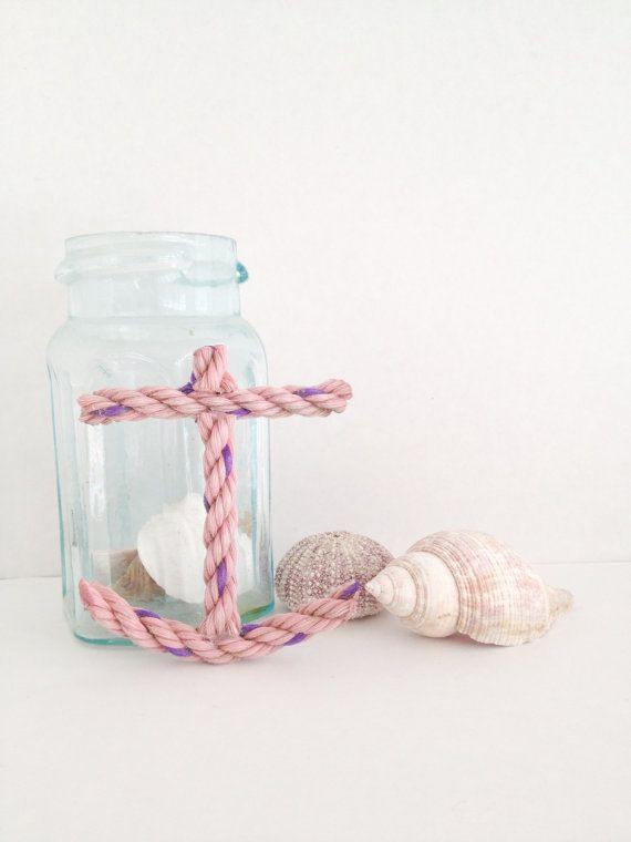 Nautical Anchor Decoration made from by CapePorpoiseTrading, $5.00