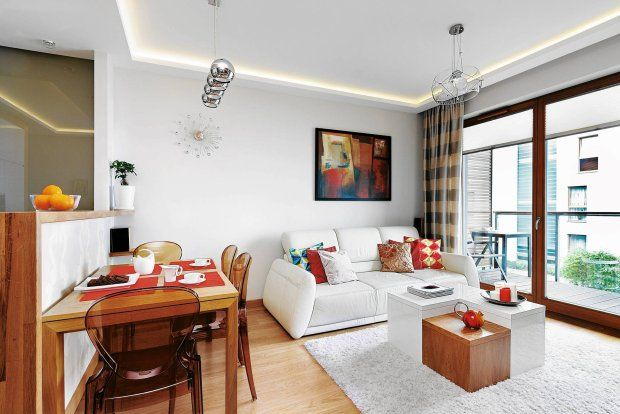 Mieszkanie: świetlne kreacje - zdjęcie