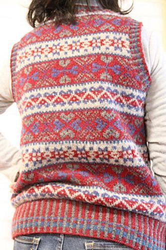 Ravelry: chacha-stitch's Fair Isle vest