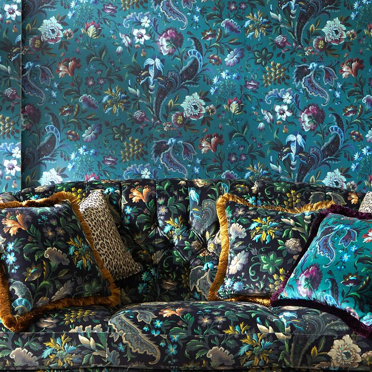 Perfect for all your upholstery needs, House of Hackney's British velvets and cotton-linens display our statement prints in style.