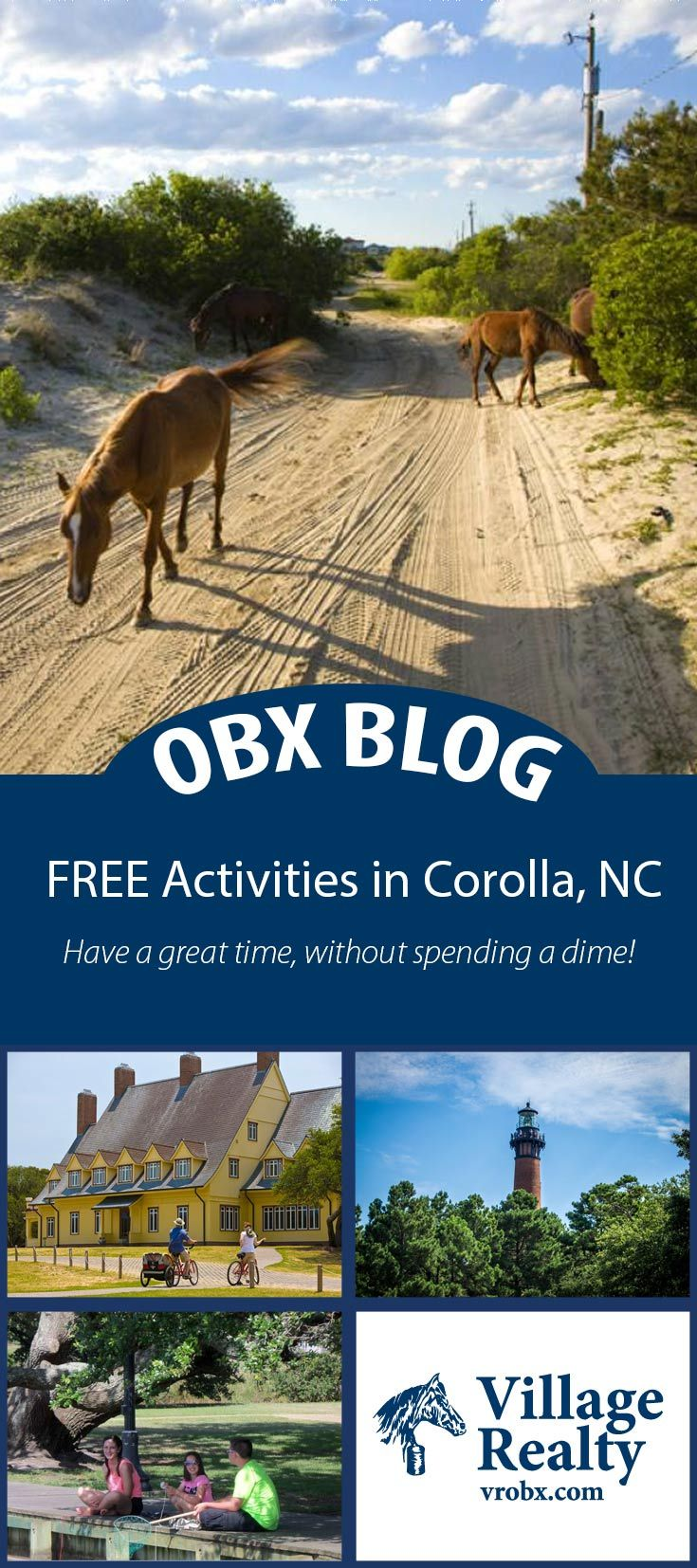 Try these FREE activities in Corolla, NC! Make your Outer Banks vacation complete.  #OBX #Corolla #Thingstodo #FamilyVacation #Vacation #Activities #OuterBanks