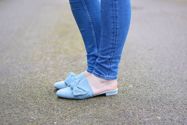 Asos Link Up Mule Ballet Flats Outfit