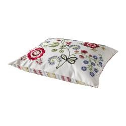 Ikea cushion. cute pattern, fun colors.