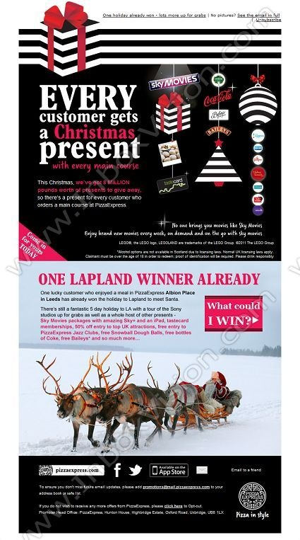 Best 19 christmas marketing ideas images on pinterest for Christmas newsletter design ideas