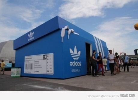 Awesome adidas store: Pop Up Shops, Street Marketing, Adidas Stores, Stores Design, Popup, Guerrilla Marketing, Barcelona Spain, Pop Up Stores, Good Air