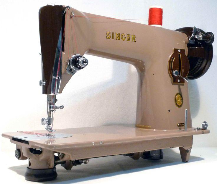 SINGER 201k Vintage Semi Industrial Sewing Machine Heavy Duty 1955 by 3FTERS on Etsy