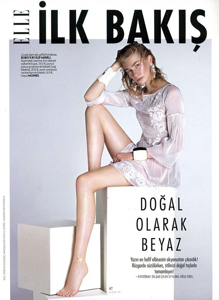 Manon Cover Elle Turkey