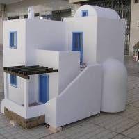 Houseland Parque Temático. Vivienda tradicional Grecia.