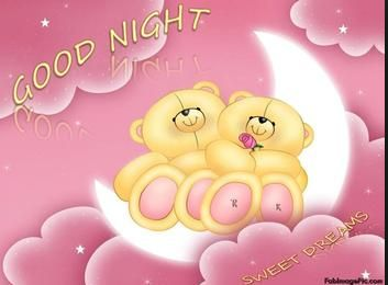 Good night Pink bears