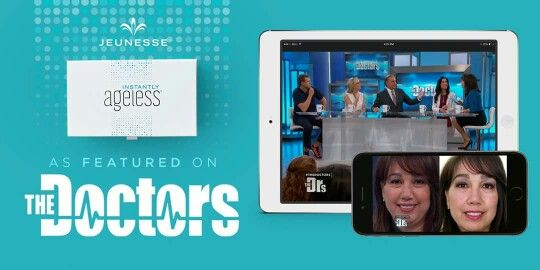✨ Instantly Ageless – even The Doctors thought it might be too good to be true. See what happens when they put it to the test!  Watch @ http://bit.ly/DrsTryIA #instantlyageless