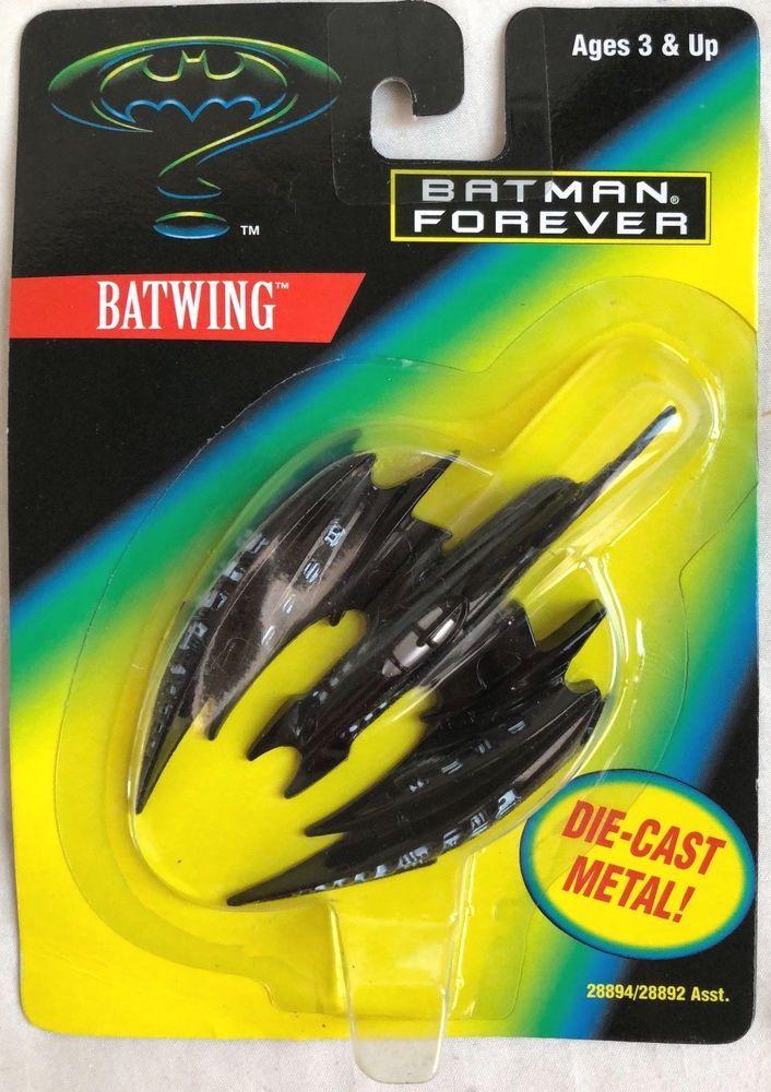 BATMAN FOREVER DIE-CAST BATWING (Kenner, 1995)