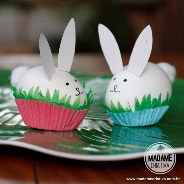 1000 ideas sobre huevos decorados en pinterest marcos - Huevos decorados de pascua ...