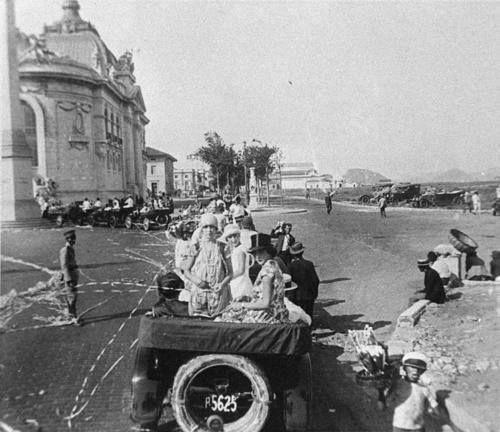 Um Corso carioca no carnaval do Rio de Janeiro - 1923