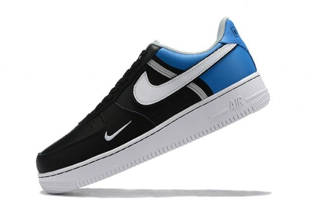 Shop Nike Air Force 1 07 Ac Black Blue White Wmns Casual Shoes In