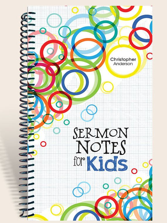 Notes for kids sermon notes childrens church sermons kids worship