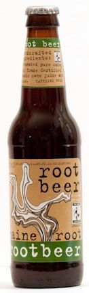 <3 this stuff - totally natural root beer!  No HCFS - made in Maine and Fair Trade Certified!