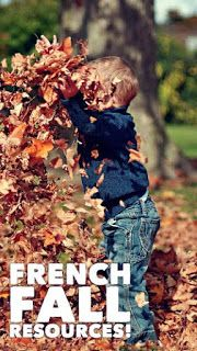 French fall resources - Primary French Immersion Resources. Tons of resources to save you time with French fall vocabulary, reading, writing, and oral communication!