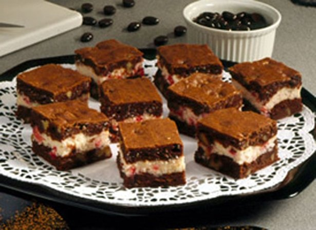 Cream Cheese Brownies - Betty Crocker - cream cheese and chocolate ...