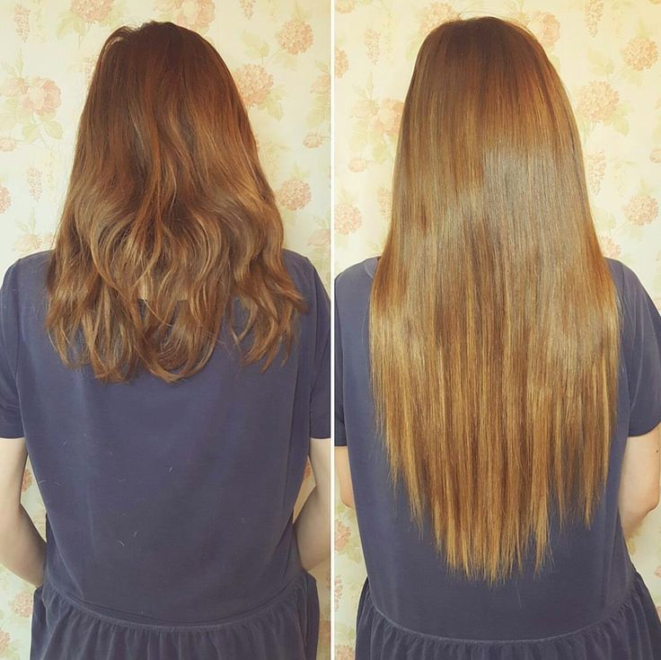 """3 colour blend using our private label 20"""" micro-ring hair extensions. ❤"""