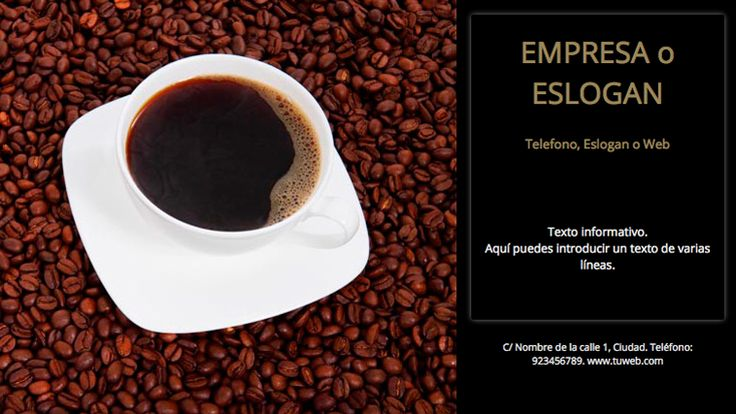 Plantilla anuncio Empresa