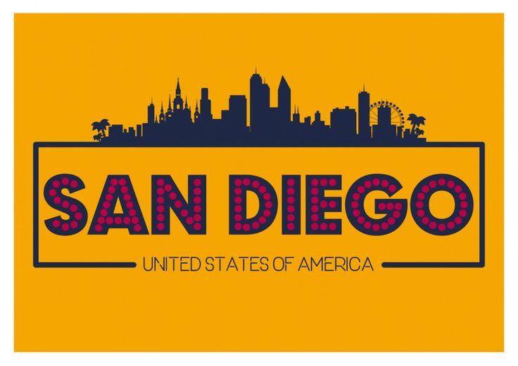 San Diego - USA   Urlaubsgrüße   Echte Postkarten online versenden…