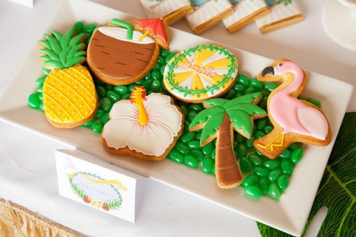 Luau Sugar Cookies